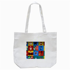 The Oxford Dictionary Illustrated Tote Bag (white)
