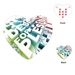 Design For Plesure Playing Cards (heart)