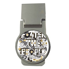 Foster The People Creative Typography Money Clips (round)