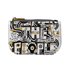 Foster The People Creative Typography Mini Coin Purses