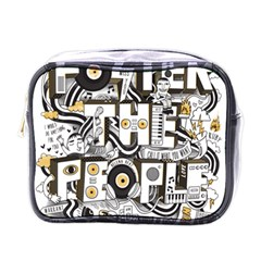 Foster The People Creative Typography Mini Toiletries Bags