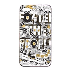 Foster The People Creative Typography Apple Iphone 4/4s Seamless Case (black)