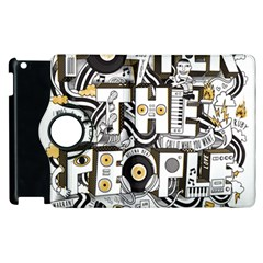 Foster The People Creative Typography Apple Ipad 3/4 Flip 360 Case