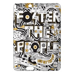 Foster The People Creative Typography Kindle Fire Hdx Hardshell Case