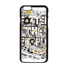 Foster The People Creative Typography Apple Iphone 6/6s Black Enamel Case