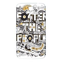 Foster The People Creative Typography Samsung Galaxy Mega I9200 Hardshell Back Case