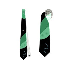 Colorful floral design Neckties (Two Side)