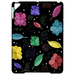 Colorful floral design Apple iPad Pro 9.7   Hardshell Case