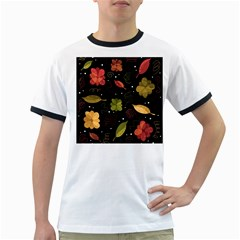 Autumn flowers  Ringer T-Shirts