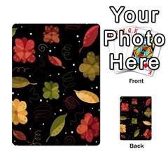 Autumn flowers  Multi-purpose Cards (Rectangle)