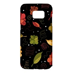 Autumn flowers  Samsung Galaxy S7 Edge Hardshell Case