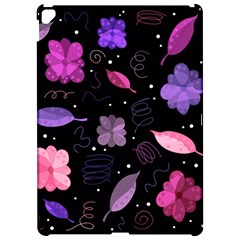 Purple and pink flowers  Apple iPad Pro 12.9   Hardshell Case