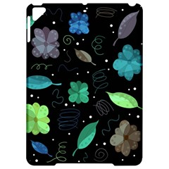 Blue and green flowers  Apple iPad Pro 9.7   Hardshell Case