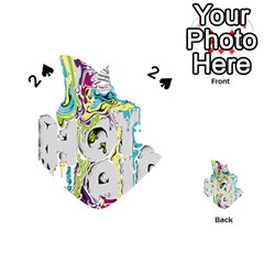 Hot Air Typography Playing Cards 54 (heart)