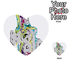 Hot Air Typography Multi-purpose Cards (Heart)