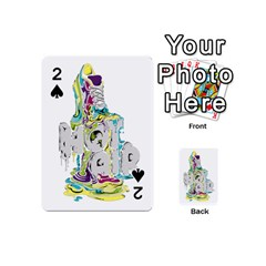 Hot Air Typography Playing Cards 54 (mini)
