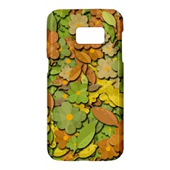Autumn flowers Samsung Galaxy S7 Hardshell Case