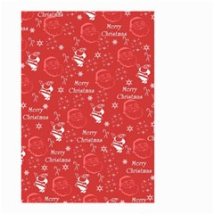 Santa Christmas Collage Small Garden Flag (two Sides)