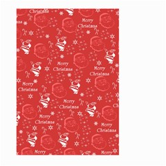 Santa Christmas Collage Large Garden Flag (two Sides)
