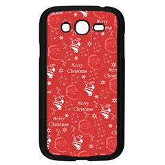 Santa Christmas Collage Samsung Galaxy Grand Duos I9082 Case (black)