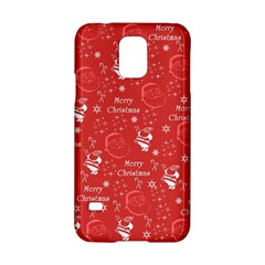 Santa Christmas Collage Samsung Galaxy S5 Hardshell Case
