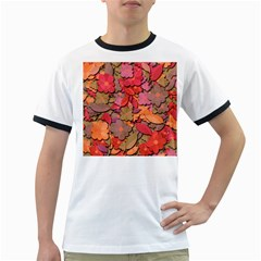 Beautiful floral design Ringer T-Shirts