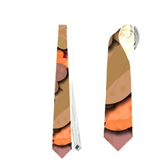Beautiful floral design Neckties (One Side)