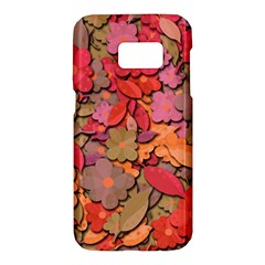 Beautiful floral design Samsung Galaxy S7 Hardshell Case