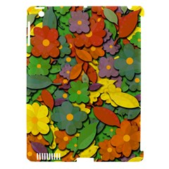 Decorative Flowers Apple Ipad 3/4 Hardshell Case (compatible With Smart Cover)