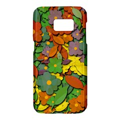 Decorative flowers Samsung Galaxy S7 Hardshell Case
