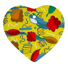 Weather Heart Ornament (2 Sides)