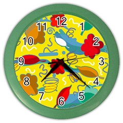 Weather Color Wall Clocks