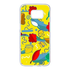 Weather Samsung Galaxy S7 edge White Seamless Case