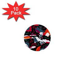 Fly away  1  Mini Buttons (10 pack)