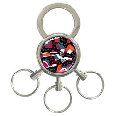 Fly away  3-Ring Key Chains