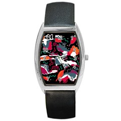 Fly away  Barrel Style Metal Watch