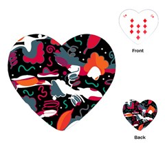 Fly away  Playing Cards (Heart)