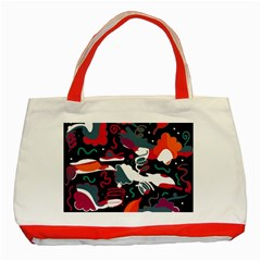 Fly away  Classic Tote Bag (Red)