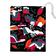 Fly away  Drawstring Pouches (XXL)