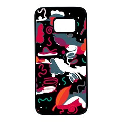 Fly away  Samsung Galaxy S7 Black Seamless Case