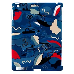 Ocean Apple Ipad 3/4 Hardshell Case (compatible With Smart Cover)