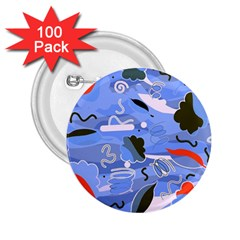 Sea 2.25  Buttons (100 pack)