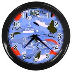 Sea Wall Clocks (Black)
