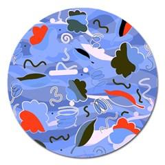 Sea Magnet 5  (Round)