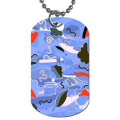 Sea Dog Tag (One Side)