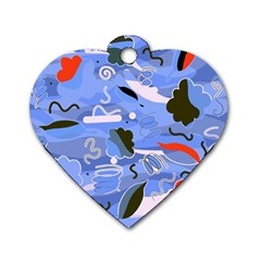 Sea Dog Tag Heart (Two Sides)