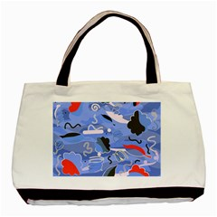 Sea Basic Tote Bag (Two Sides)