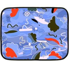 Sea Double Sided Fleece Blanket (Mini)