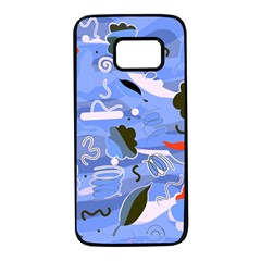 Sea Samsung Galaxy S7 Black Seamless Case