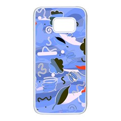 Sea Samsung Galaxy S7 White Seamless Case